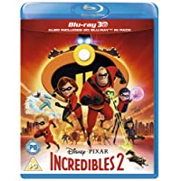 Incredibles 2 [3D + Blu-ray] [2018] [Region Free]