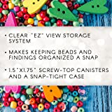 Darice 2025-251 Clear Bead Container