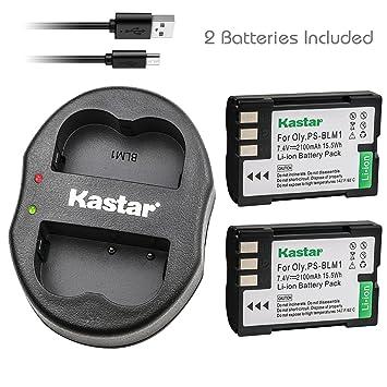 Amazon.com: Kastar Cargador USB, Batería para BLM1 – 1 BLM1 ...