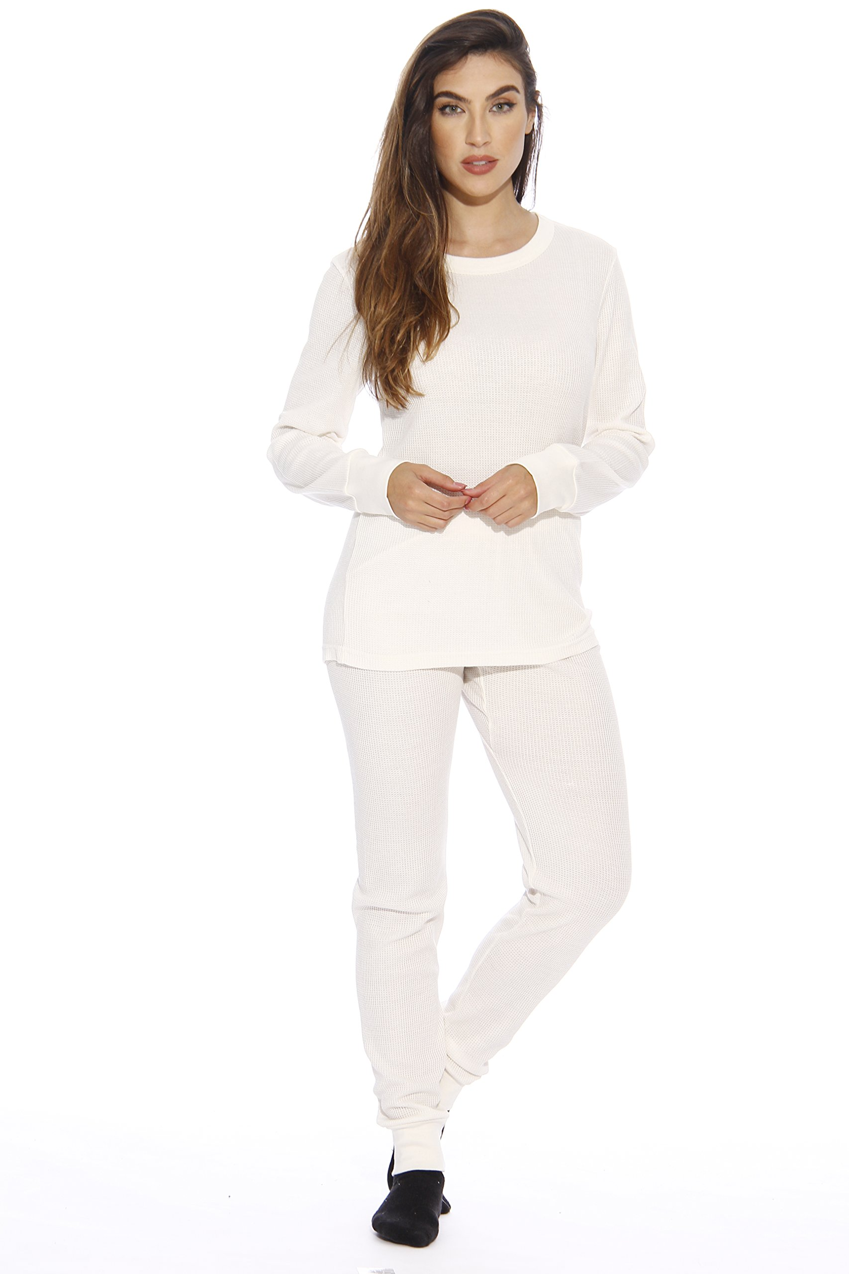 95862-White-M Just Love Women's Thermal Underwear Set / Base Layer Thermals