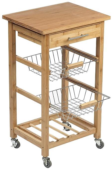 DM CREATION 00013 - Carrello piano di lavoro per cucina, misura ...