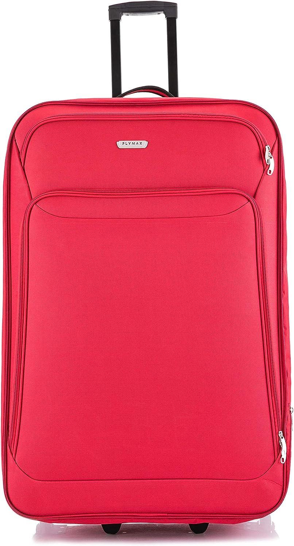 81,3 cm Valise /à roulettes extra large souple et l/ég/ère 85 cm Rouge 32 rouge 2019 32