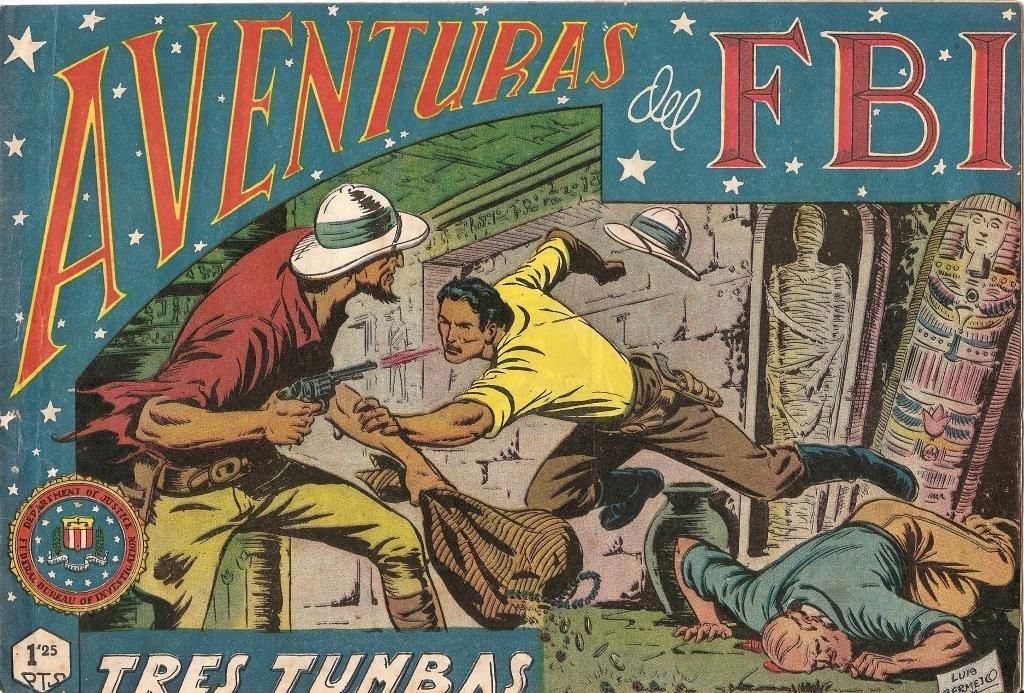 Aventuras del FBI original numero 022: Tres tumbas: Amazon.es: Luis Bermejo: Libros