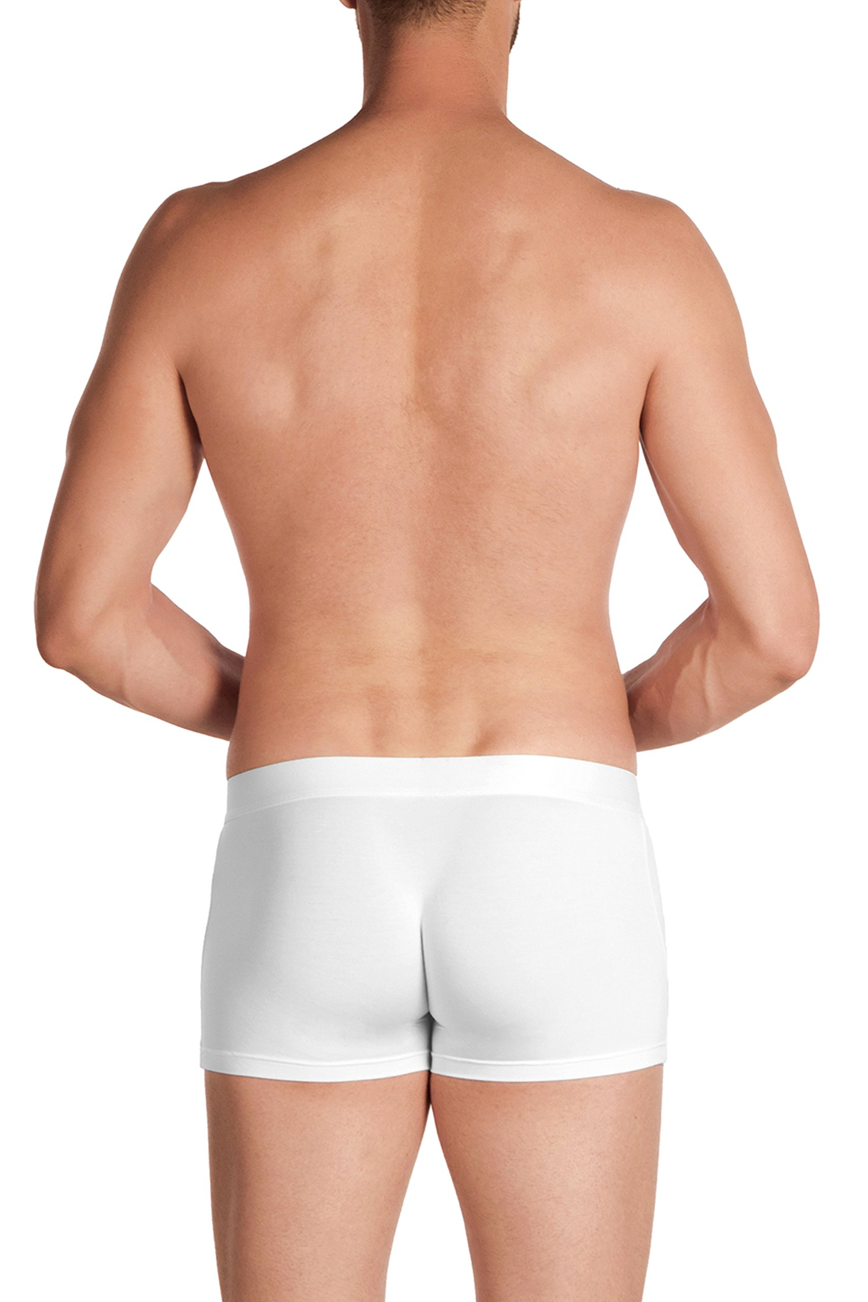 Obviously PrimeMan - Boxer Brief 3 inch Leg - White - Medium