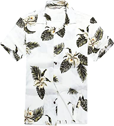 Camisa Hawaiana de los Hombres Camisa Hawaiana