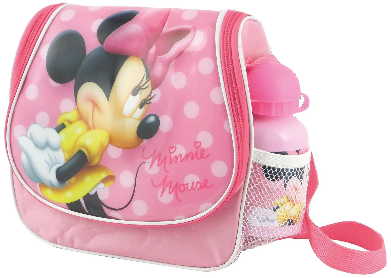 BBS - 121103 - Lot avec sac et gourde motif Minnie