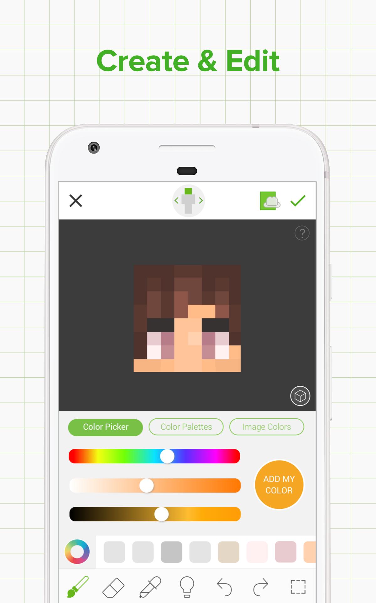 Skinseed - Skin Creator & Skins Editor for Minecraft - com