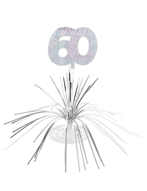 Generique Tischaufsteller f/ür den 60.Geburtstag