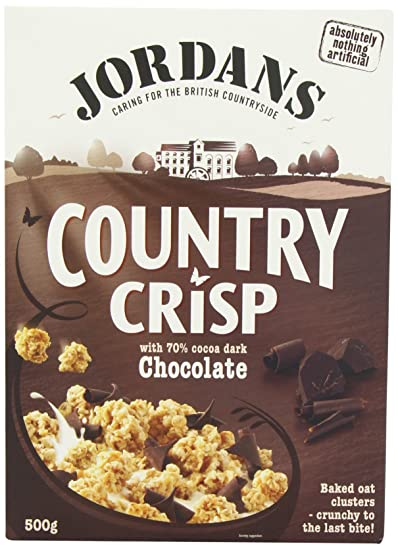 Jordans - Country Crisp - Chocolate - 500g (Pack of 3)