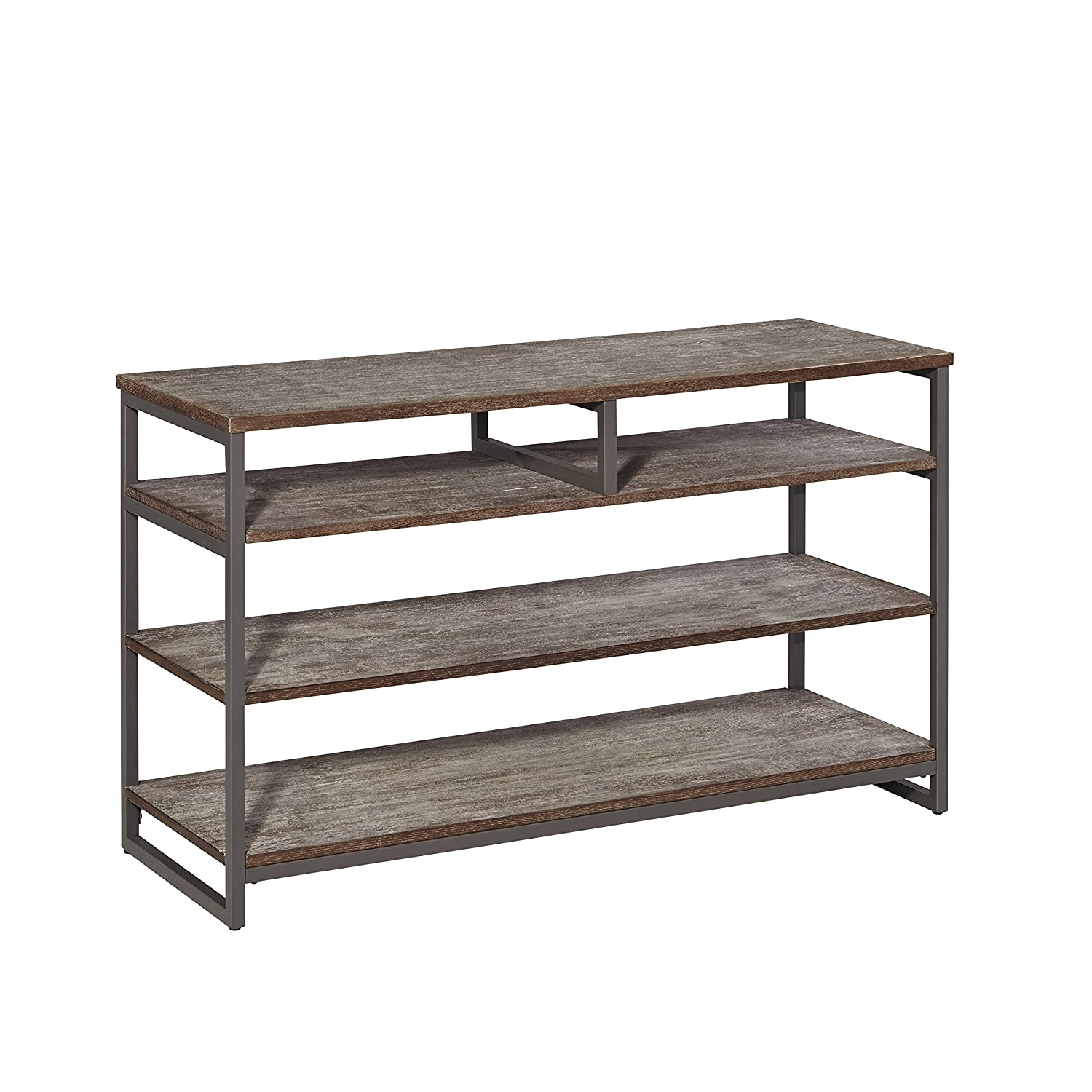 Barnside Metro Gray Entertainment Console by Home Styles