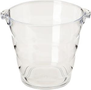 Prodyne Acrylic Wine Bucket, 4-Quart, Clear