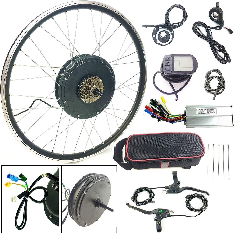 Schuck Kit de conversión de Bicicleta eléctrica 20 48V1000W ...