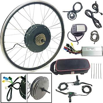 Schuck Kit de conversión de Bicicleta eléctrica 28 48V1000W ...