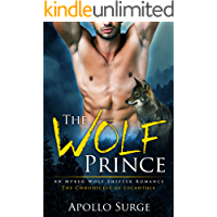 The Wolf Prince: M/M Wolf Shifter Paranormal Romance (The Chronicles of Lycanthia Book 1) book cover