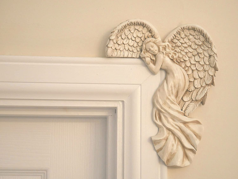 Amazon.de: Garden Mile Vintage Shabby Chic Stil creme Engel Flügel ...