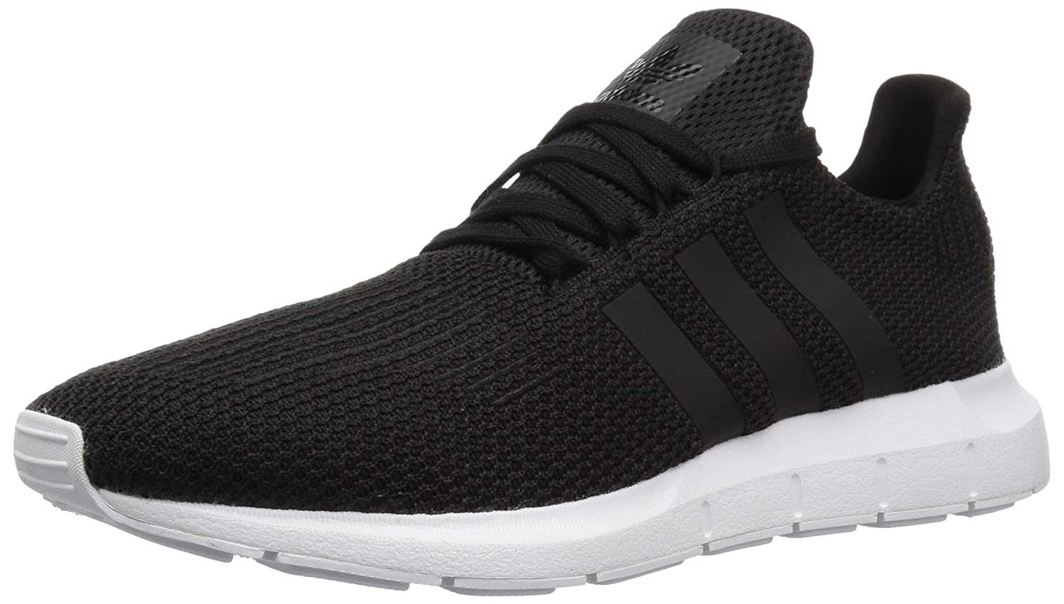 adidas Originals Men's Swift Running Shoe B078GWYTYK 13.5 D(M) US|Black/White