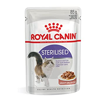 ROYAL CANIN Comida para Gatos Sterilised 12 * 85gr: Amazon.es: Productos para mascotas