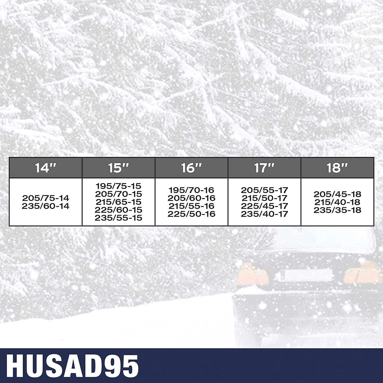 SUMEX HUSAD20 KN20 Husky Advance Schneeketten 9/mm