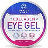 Collagen Eye Gel, Under Eye Gel Treatment for Reducing Dark Circles, Moisturizing, Targets Wrinkles Anti-Aging, Fine…