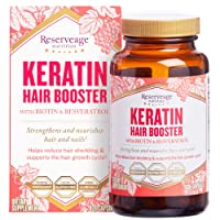 Reserveage, Keratin Hair Booster, Hair and Nails Supplement, Supports Healthy Thickness...