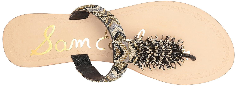 Sam Edelman Women's Anella-1 Slide Sandal B01K6PKXLE 8 B(M) US|Black/Multi