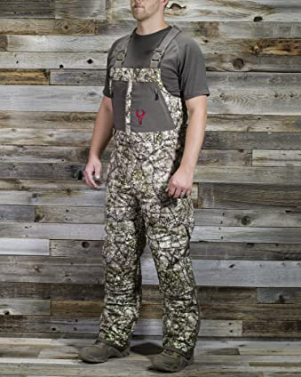 Badlands Men's Convection Camo Insulated Hunting Bib Overalls - 5