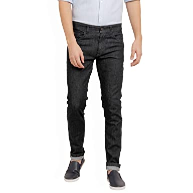 5d4fd636 Derby Jeans Community Blue Cotton Light Faded Slim Fit Stretch Jeans:  Amazon.in: Clothing & Accessories