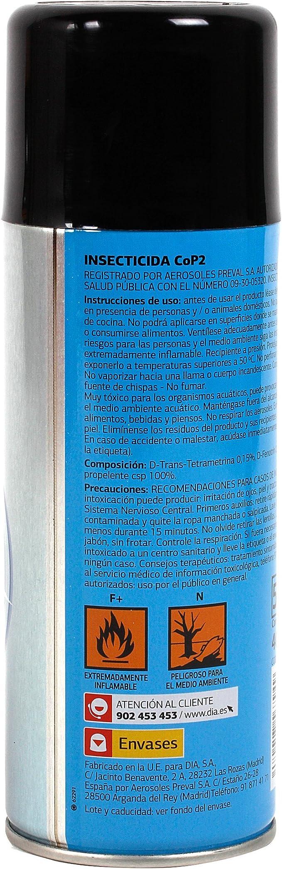 DIA - Insecticida Concentrado Contra Insectos Voladores Spray 400 Ml: Amazon.es: Alimentación y bebidas