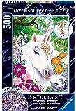 """Ravensburger 14850 9 """"Gorgeous Unicorn - Brilliant""""  Puzzle (500-Piece)"""