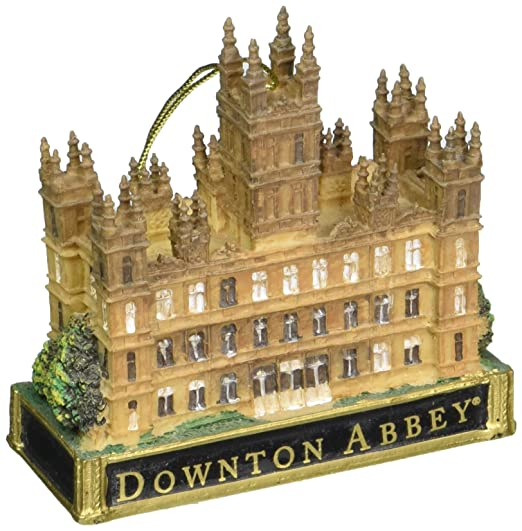 Downton Abbey Castle Ornament, 3.5-Inch