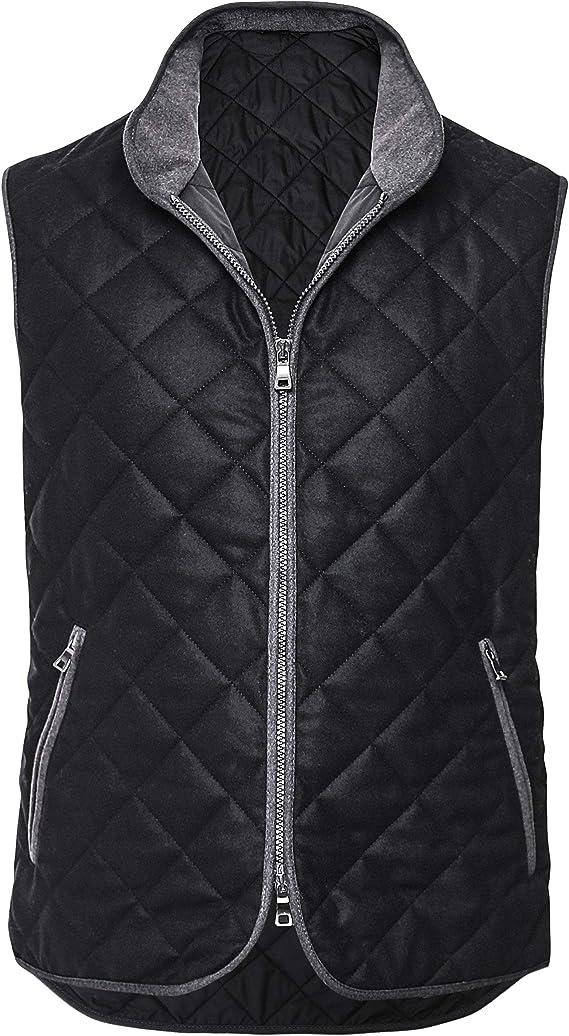 Black waterville box quilt vest ukforex limited moorgate capital