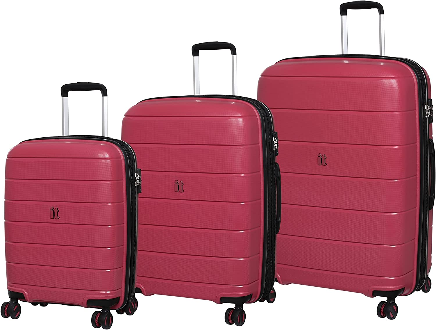 it luggage Maleta, Rosa roja (Rojo) - 15-2183-08GLO3N-S668