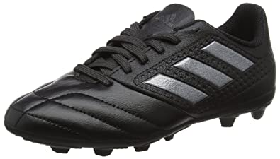 buy popular bb961 3f9e5 adidas Ace 17.4 FxG, Chaussures de Football Mixte Enfant, Noir Core Utility  Black,