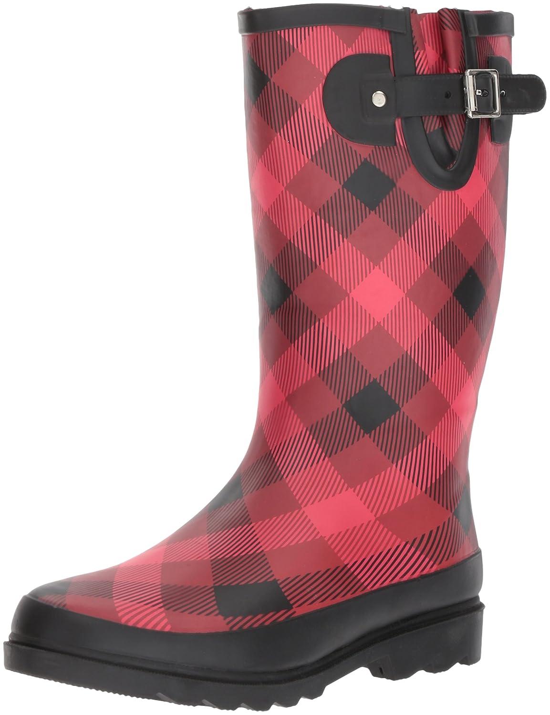 Western Chief Women's Printed Tall Rain Boot B01MRCK5XL 11 B(M) US|Dual Buffalo
