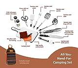 Camp Kitchen Utensil Organizer Travel Set