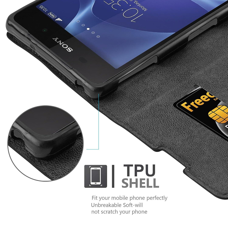 Amazon.com: Sony Xperia Z2 funda libro por cadorabo (diseño ...