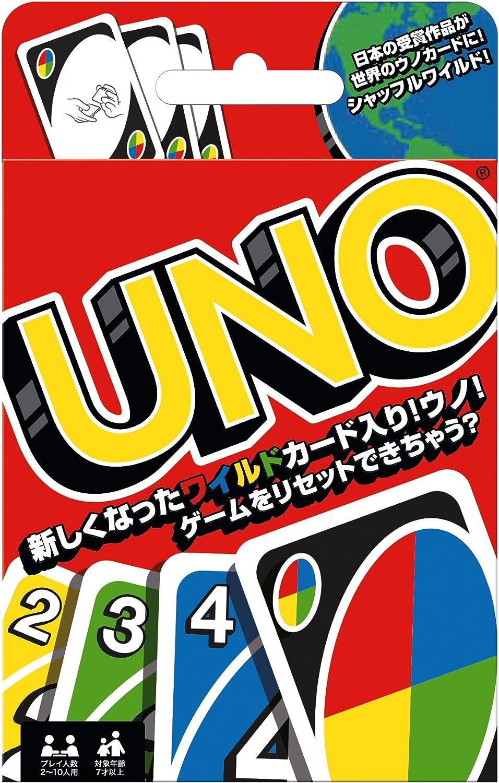 Amazon | ウノ UNO カードゲーム B7696 | おもちゃ | おもちゃ