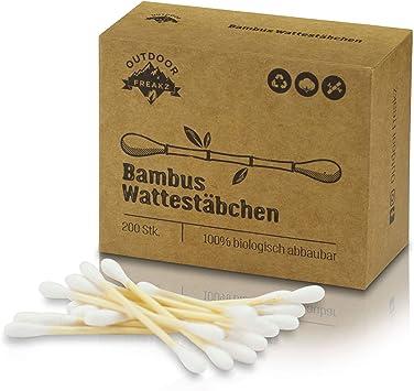 Hisopos de algodón Vegano y Sostenible, 100% Biodegradable ...