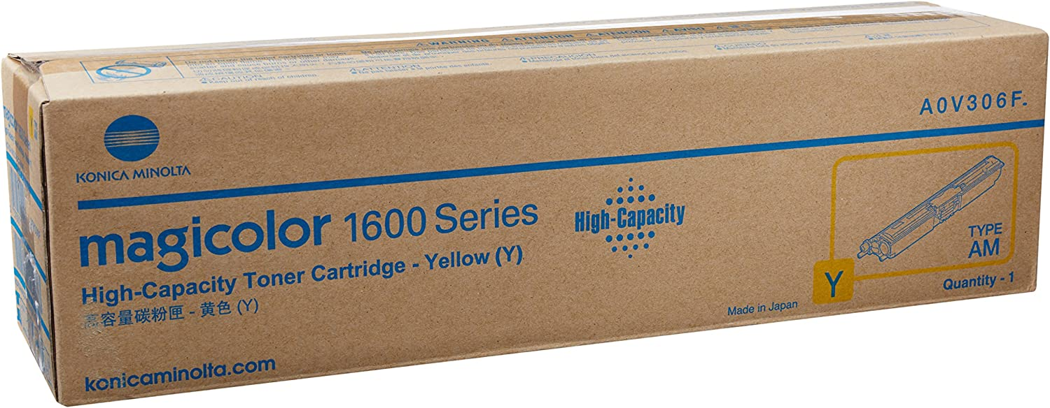etc; Asst Colors BCMY Ink 1650EN 12 Assorted Toner Cartridges Bulk: CK1600 Myriad Compatible Assorted Toner Cartridges Replacement for Konica 1600 A0V306F; Models: Magicolor 1600 1600W