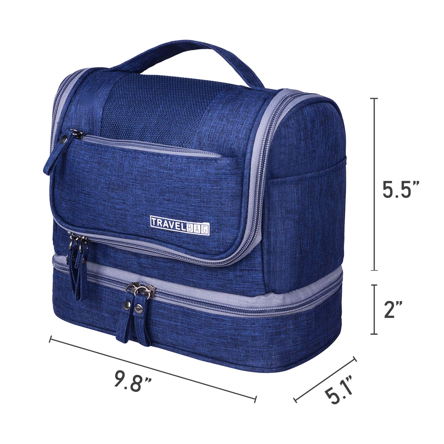 928476cab645 Amazon.com   Hanging Travel Toiletry Bag for Women and Men