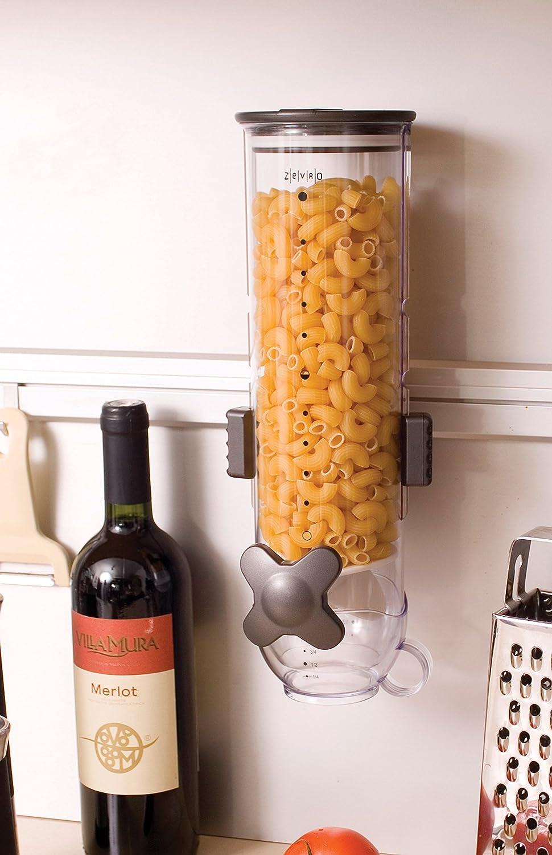 Uncategorized Useless Kitchen Appliances amazon com zevro kch 06139 indispensable smartspace wall mount triple dry food dispenser cereal kitchen dining