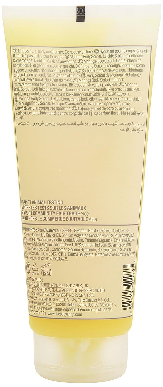 Amazon: The Body Shop Moringa Body Sorbet, Parabenfree Light  Moisturizer, 675 Fl Oz: Beauty