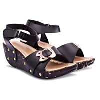 Denill Latest Collection, Comfortable Women's Sandals | Sandals for Women | Wedges Sandals for Women | Sandals for Women Casual Stylish| Women Sandals |Sandals for Girls| Sandals for Girls Party Wear