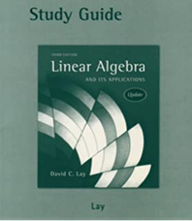 Linear algebra and its applications 3rd updated edition book cd study guide to linear algebra and its applications 3rd edition fandeluxe Choice Image