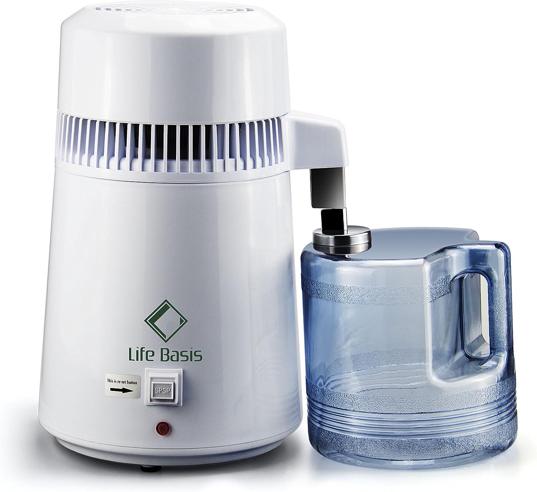 LifeBasis Destilador de Agua Casero Doméstica Water Distiller ...