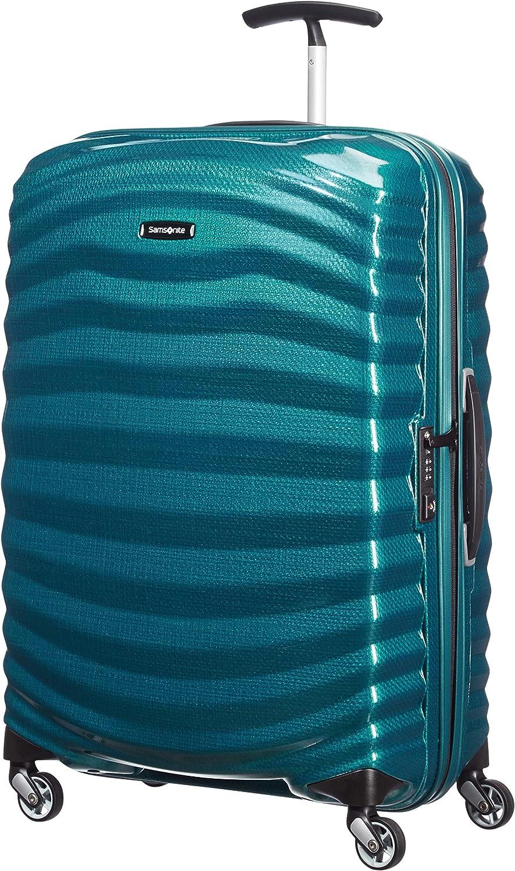 Samsonite Lite-Shock - Spinner M Maleta, 69 cm, 73 L, Azul (Petrol Blue)