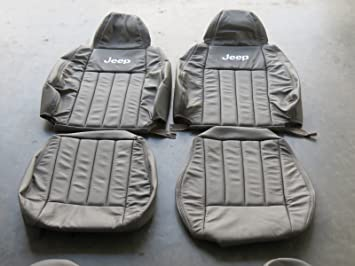 Jeep Liberty Sport 2010 2012 Factory Leather Interior Replacement Seat Cover Upholstery Kit