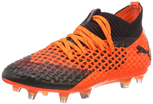 eeec28b20 Puma Unisex Kids' Future 2.1 Netfit Fg/Ag Jr Footbal Shoes: Amazon ...