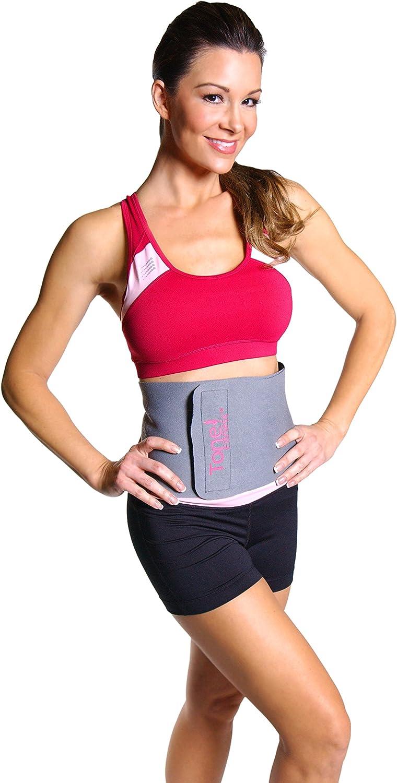 Tone Fitness Waist Slimmer Belt Gray