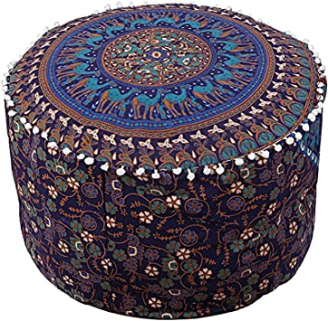 Modern pouf Square pouf Bench pouf Ottoman pouf Leather pouf Ottoman chair Handmade pouf Pouffe Vintage pouf Boho pouf Aztec pouf